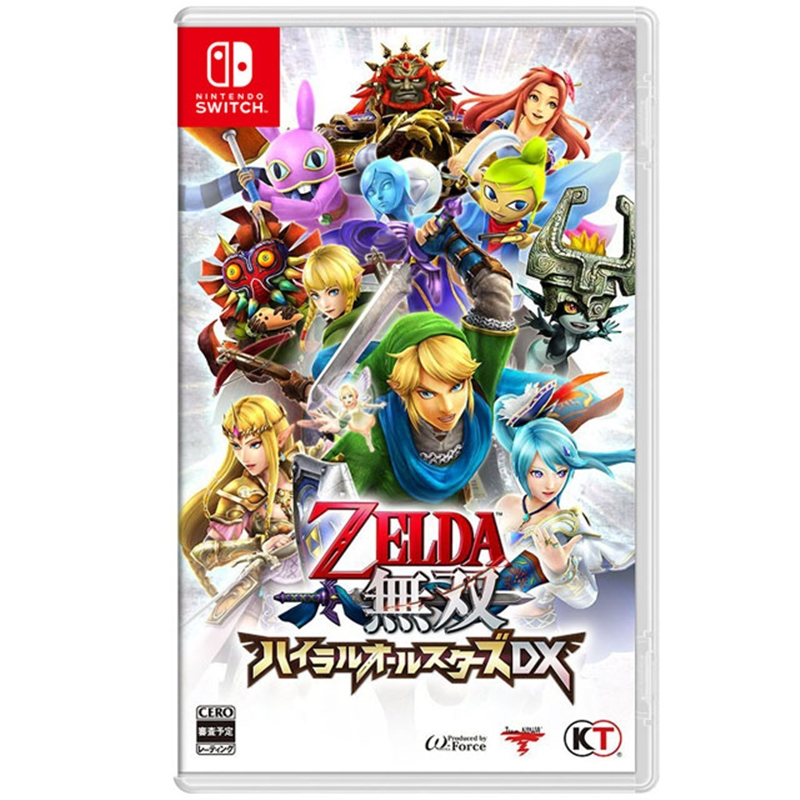 Nintendo Switch ZELDA 薩爾達無雙 海拉魯全明星豪華版_中文版
