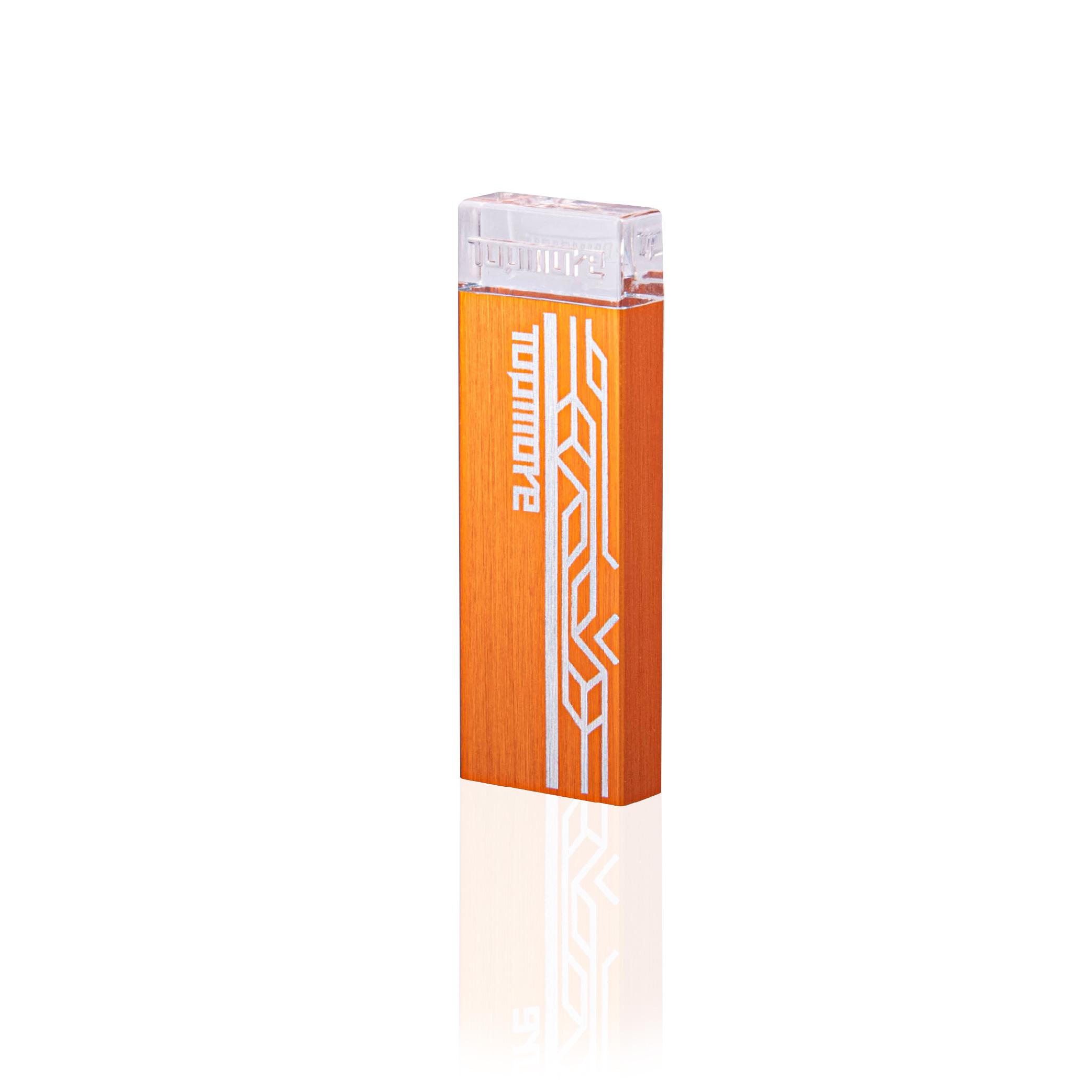 Topmore 達墨系列AI發光隨身碟 USB3.0 128GB-橘色