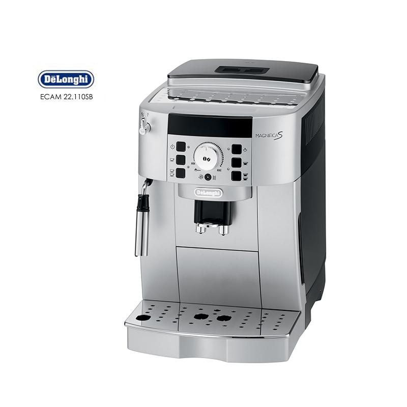 【DeLonghi迪朗奇】義大利 風雅型全自動咖啡機 ECAM22.110.SB