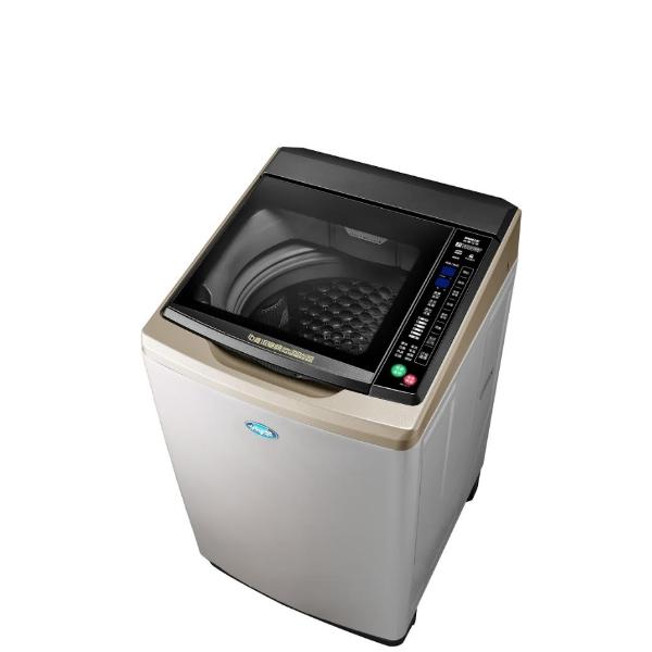 台灣三洋SANLUX 15公斤全玻璃觸控洗衣機不鏽鋼SW-15DAGS