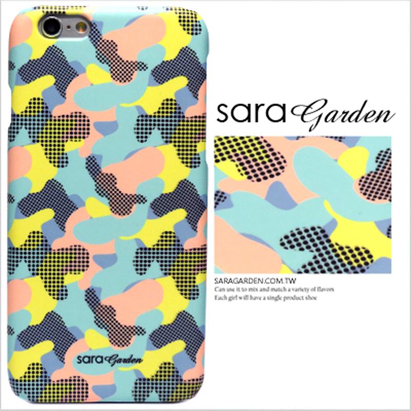 【Sara Garden】客製化 手機殼 蘋果 iPhone6 iphone6S i6 i6s Color 運動 迷彩 保護殼 硬殼 限定
