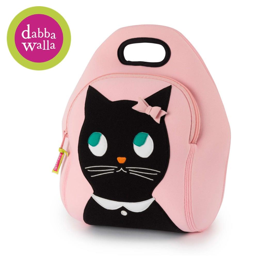 美國Dabbawalla瓦拉包 -貓咪兒童手提包