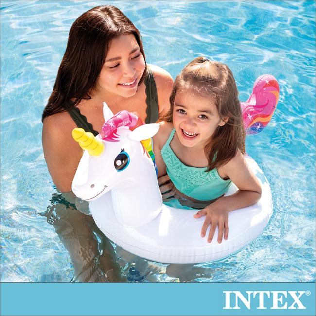 【INTEX】造型游泳圈-獨角獸_適用3-6歲(58221)