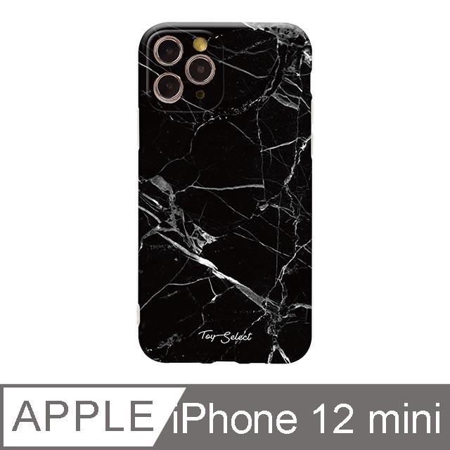 iPhone 12 Mini 5.4吋 Nordic北歐大理石iPhone手機殼 黑白大理石