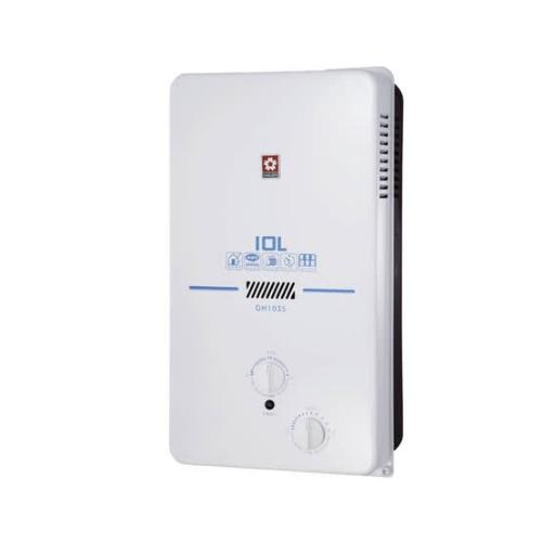 (全省安裝)櫻花10公升ABS防空燒(與GH1035/GH-1035同款)熱水器天然氣GH-1035N
