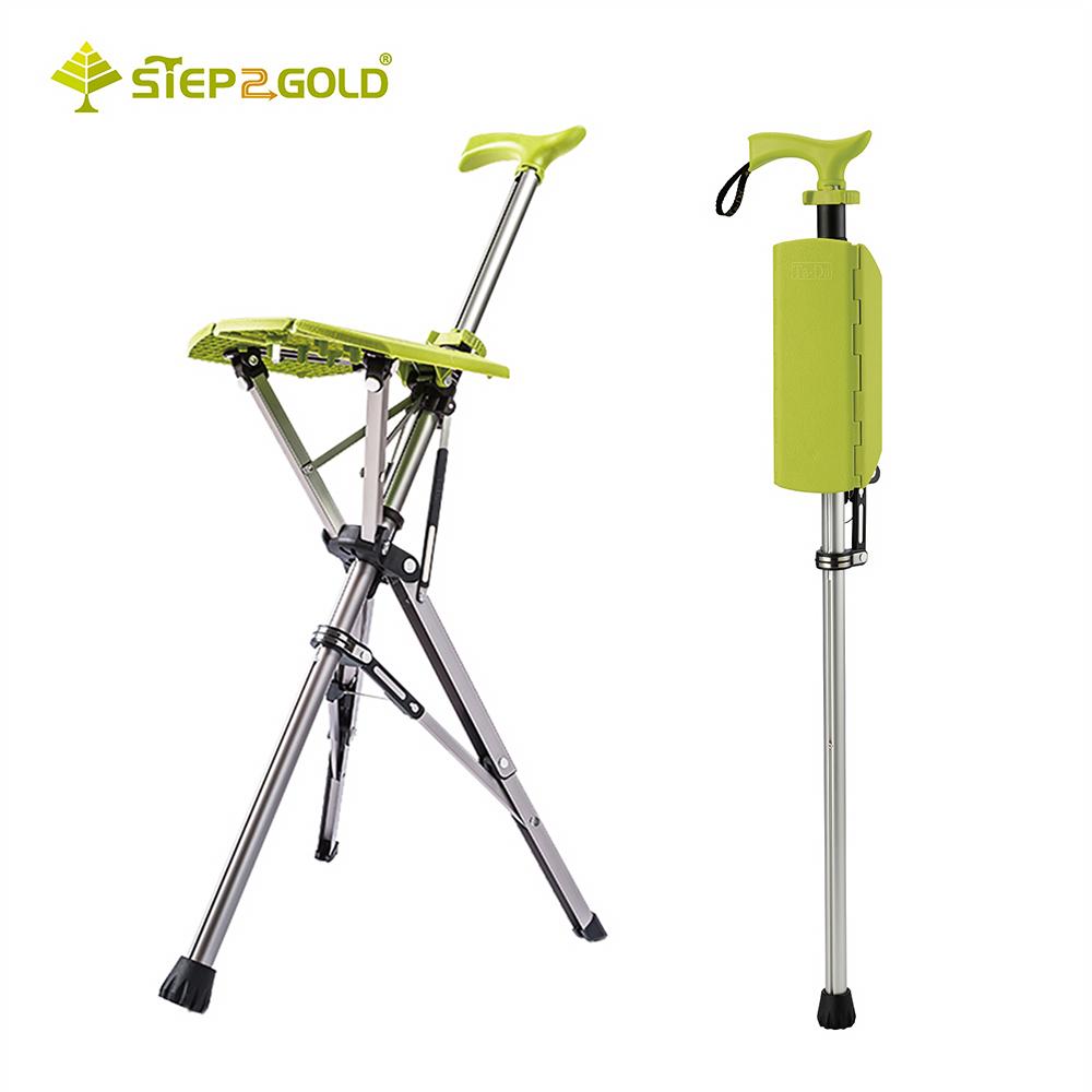 【Ta-Da】經典款泰達椅 自動手杖椅-萊姆綠