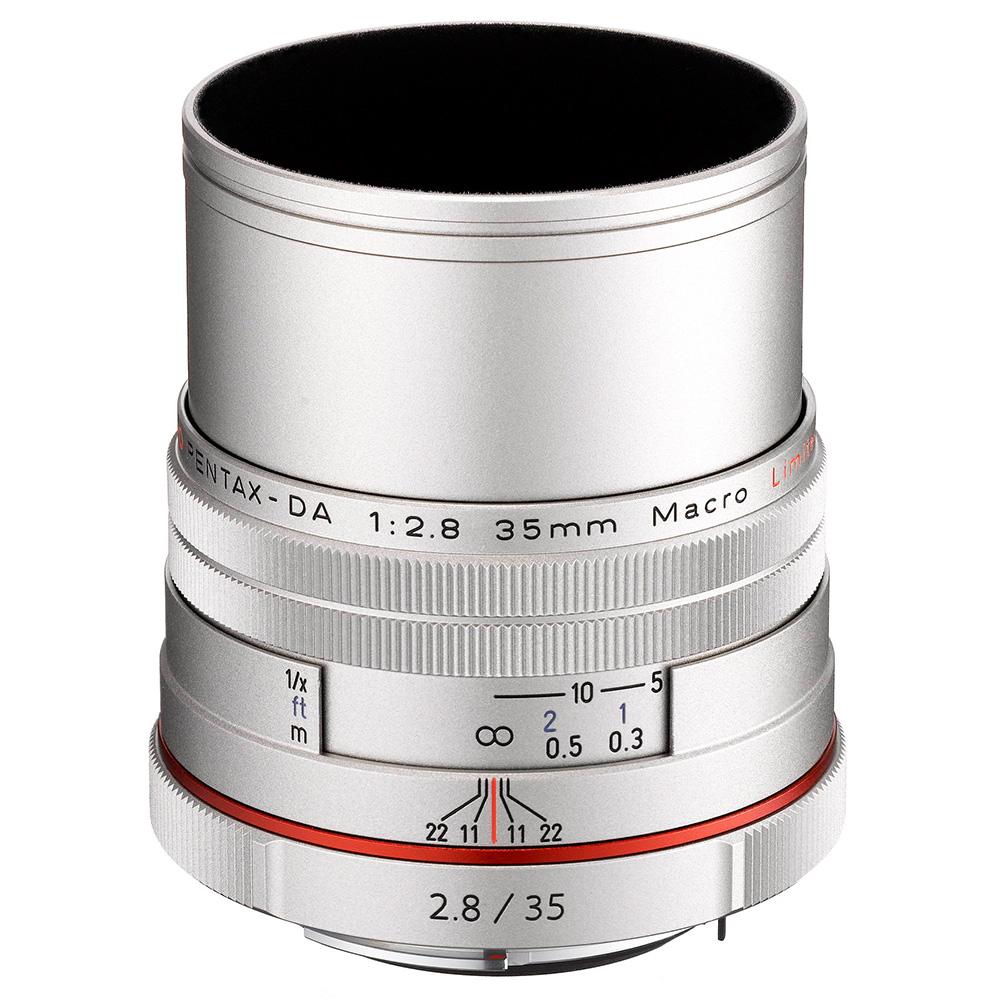 PENTAX HD DA 35mm F2.8 Macro Limited_銀色【公司貨】