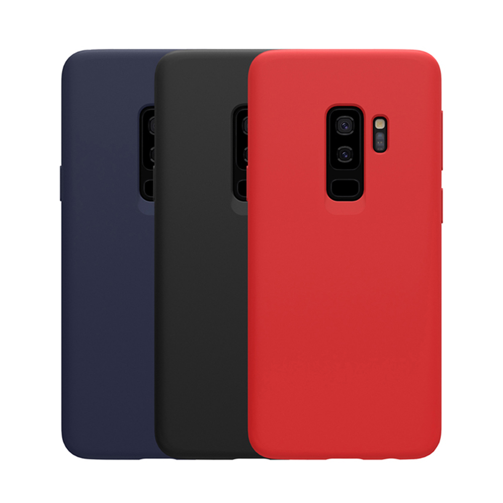 NILLKIN SAMSUNG Galaxy S9+ 感系列液態矽膠殼(紅色)