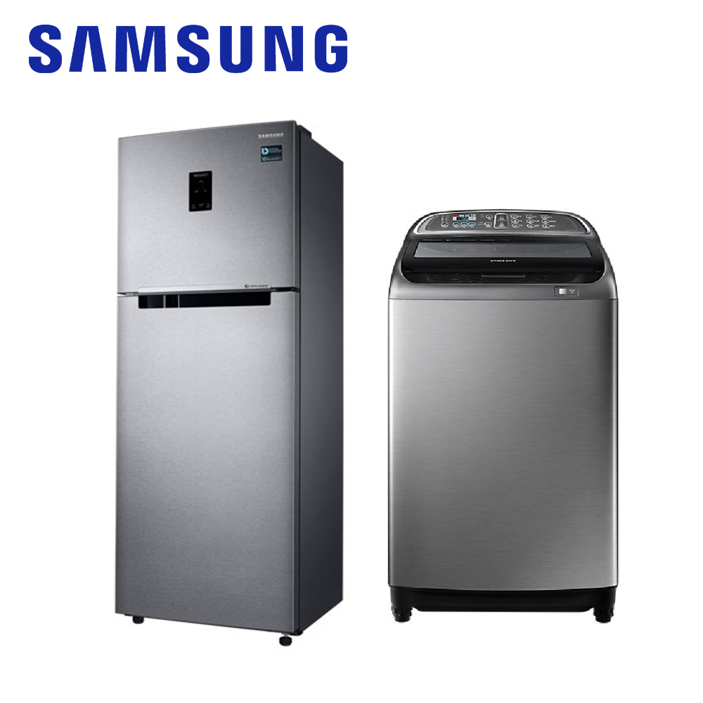 ★尾牙大禮包★【SAMSUNG三星】323L雙門冰箱+13KG直立式變頻洗衣機RT32K5535SL+WA13J5750SP