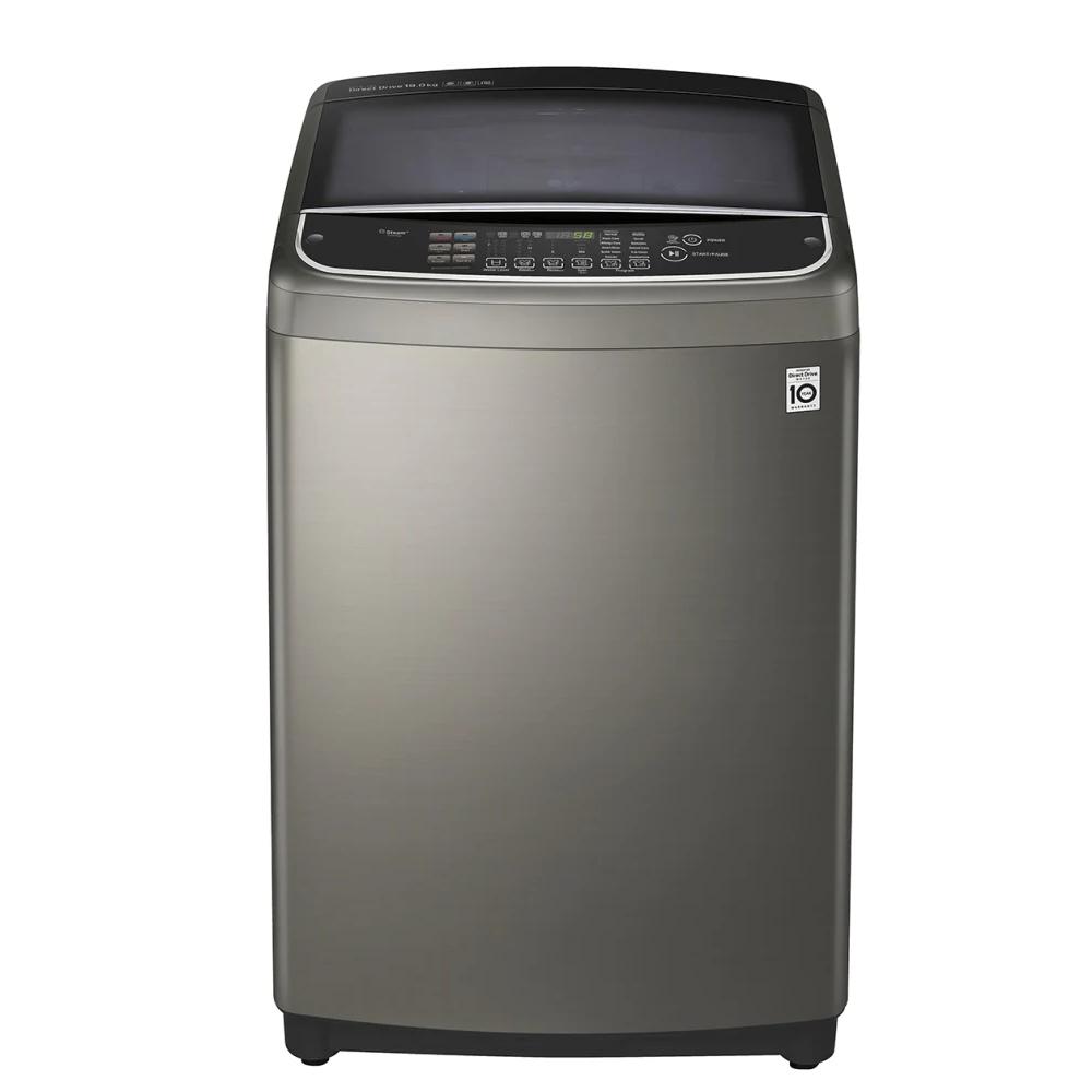 LG樂金15KG變頻蒸善美溫水不鏽鋼色洗衣機WT-SD159HVG