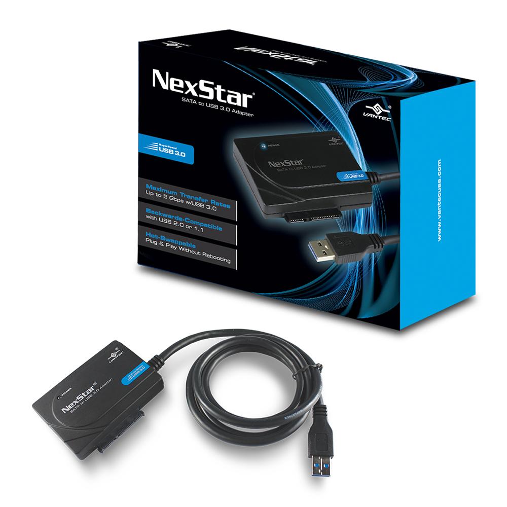 VANTEC 凡達克超高速傳輸精靈-SATA to USB 3.0 快捷線