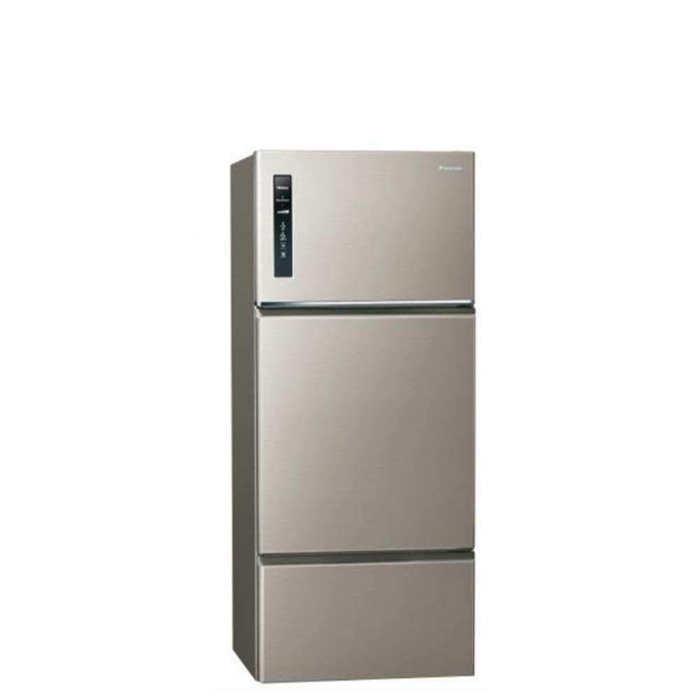 Panasonic國際牌481公升三門變頻冰箱星耀金NR-C489TV-S1