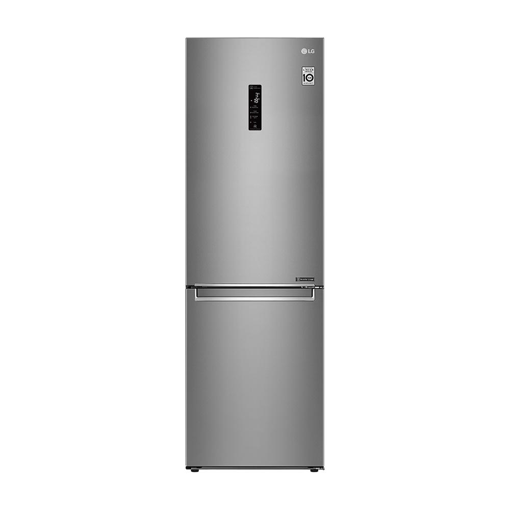 LG樂金 WiFi直驅變頻上下門冰箱 晶鑽格紋銀 / 343L GW-BF389SA