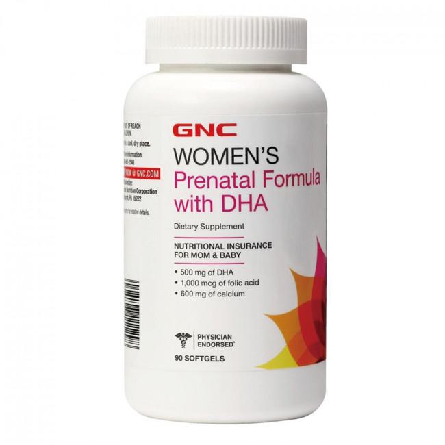 【GNC健安喜】婦寶樂-DHA綜合膠囊食品 90顆