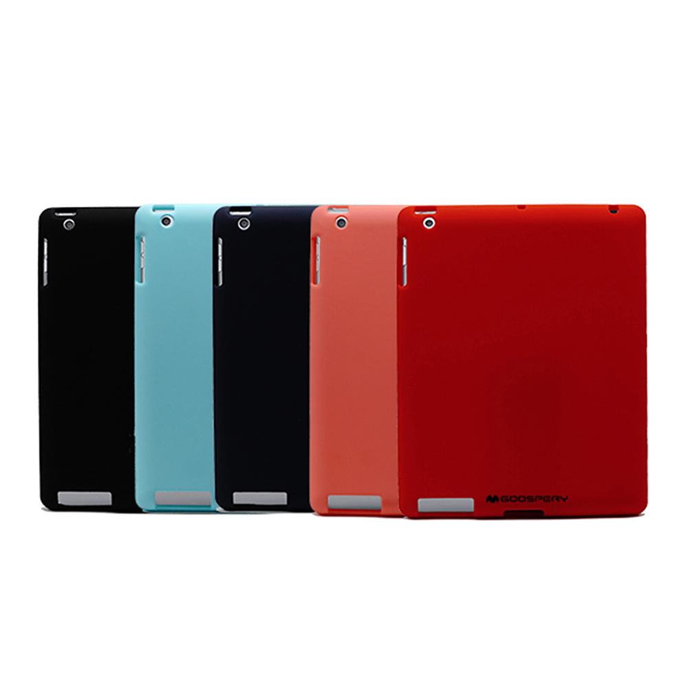 GOOSPERY Apple iPad(2017) SOFT FEELING 液態矽膠殼(紅色)