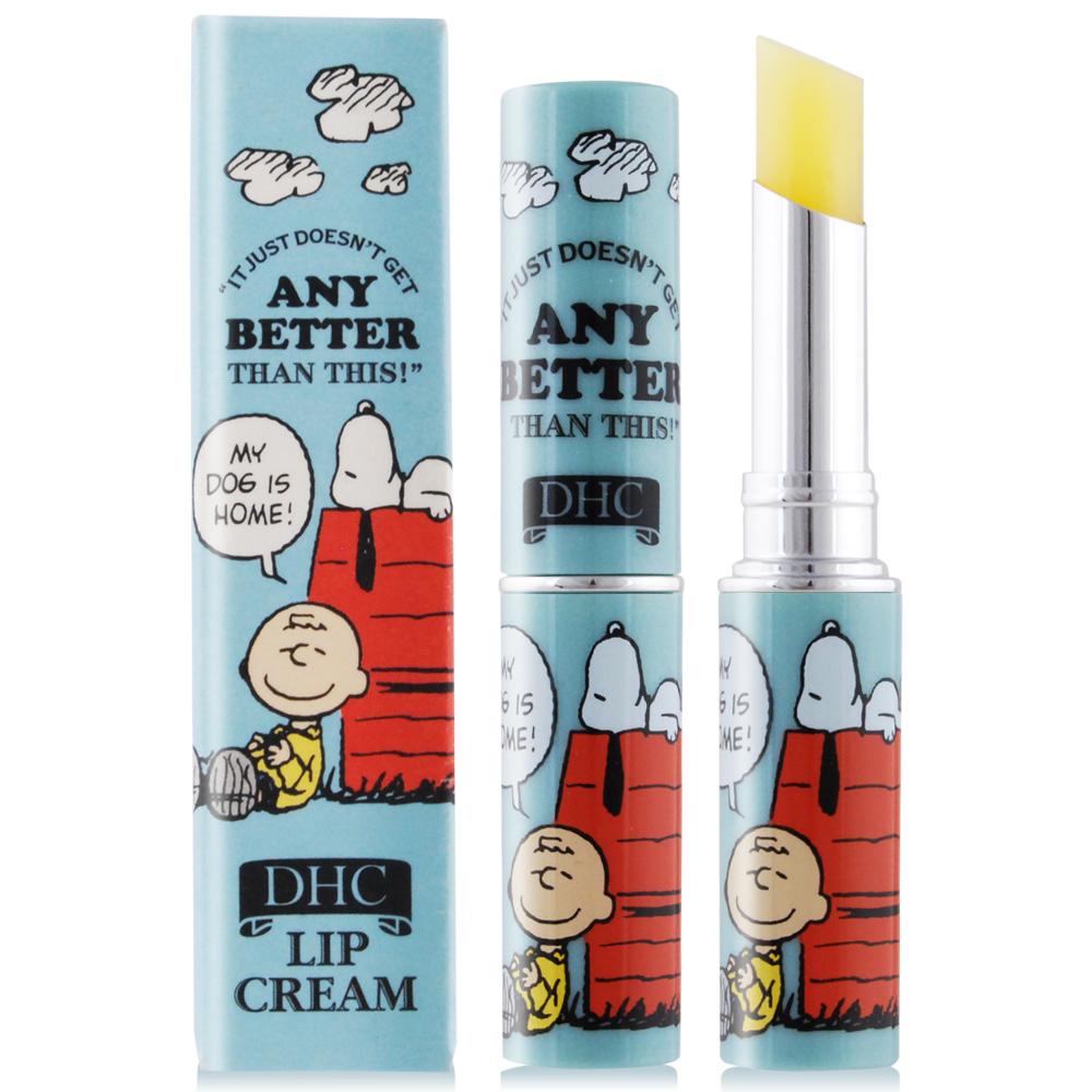 DHC 純橄欖護唇膏-史努比限定版(1.5g)-藍色