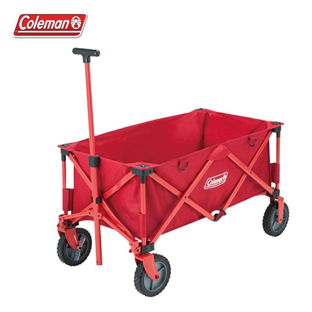Coleman 四輪拖車 裝備拖車 摺疊置物推車 滾輪裝備收納袋 帳篷裝備袋著走 CM-21989