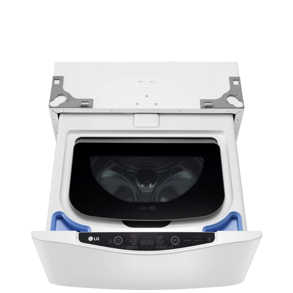 LG樂金不鏽鋼白色下層2公斤溫水洗衣機 WT-SD200AHW