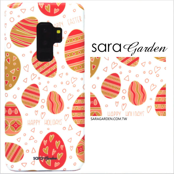 【Sara Garden】客製化 手機殼 SONY XA2 保護殼 硬殼 手繪愛心彩蛋