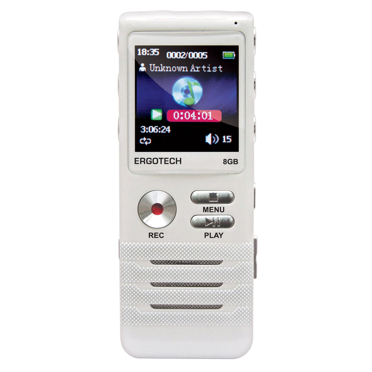 Ergotech人因科技 零壓縮無損音質錄音筆VR74CW