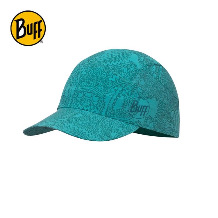 【西班牙 BUFF】碧玉青藍 可捲收健行帽