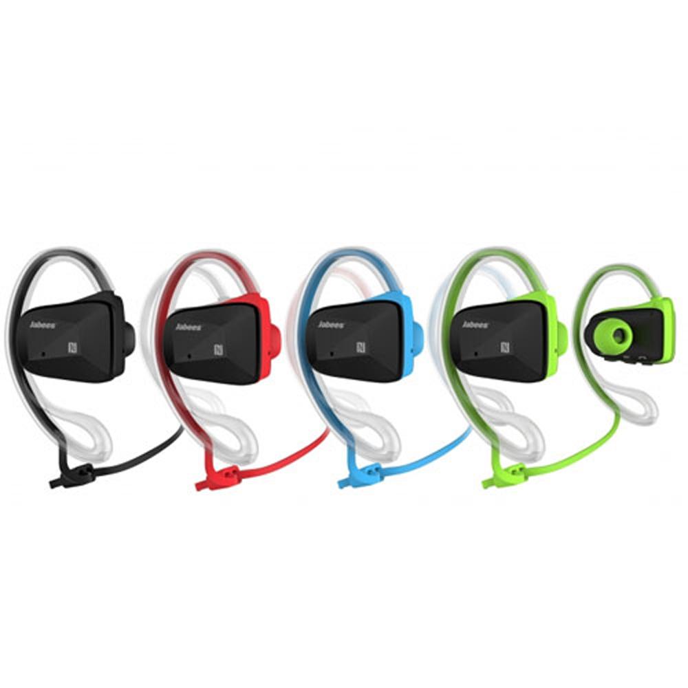 Jabees Bsport 立體聲運動型耳機 -綠色