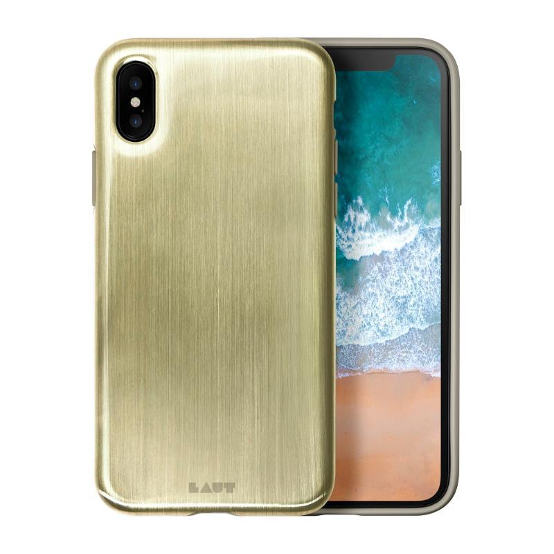 LAUT  玩色金屬色手機保護殼iPhoneX 金
