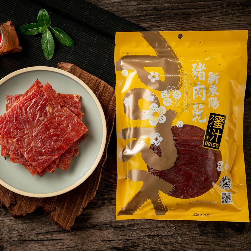 【新東陽】蜜汁豬肉乾(120g*5包)