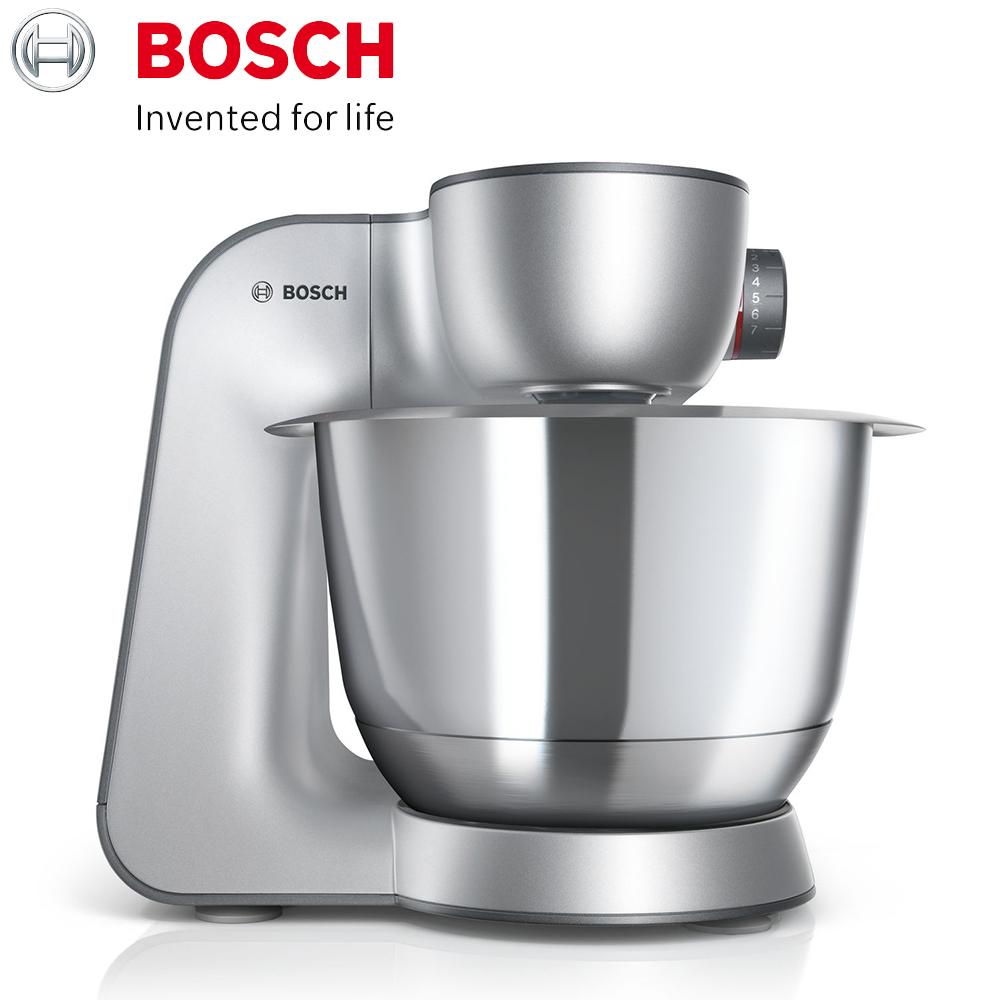 (獨家送義大利壓麵機)【BOSCH 博世】精湛萬用廚師機 MUM59340TW (星燦銀) 攪拌機 料理機 調理機