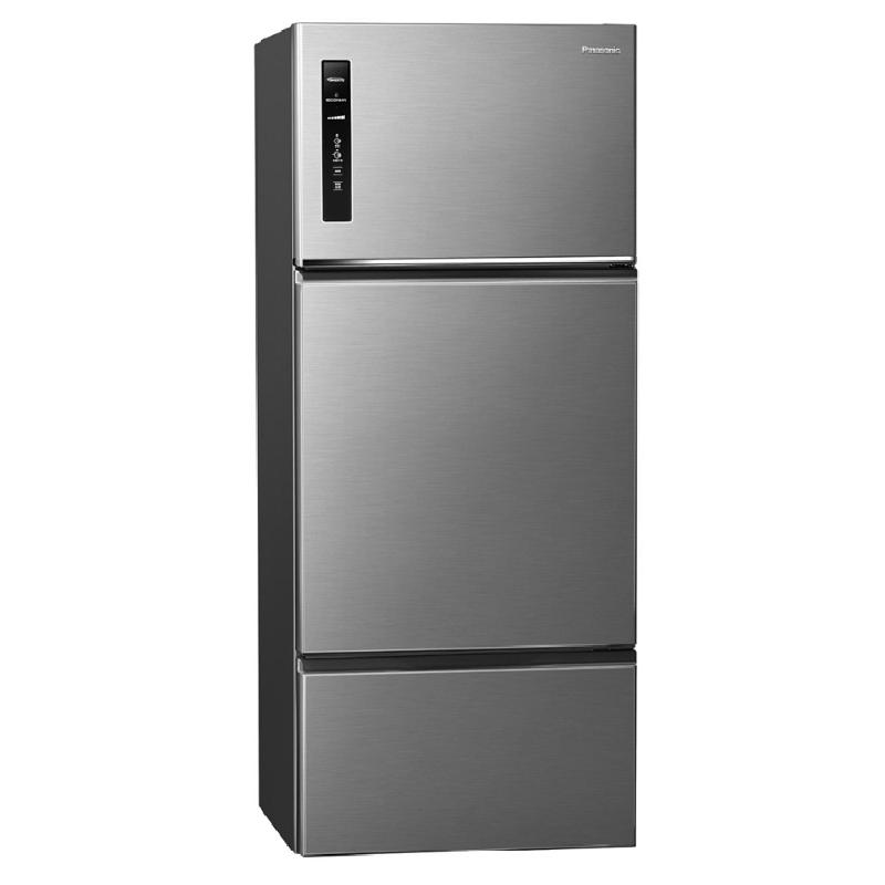 Panasonic 481L無邊框鋼板變頻三門電冰箱 晶漾銀 NR-C481TV-S【贈基本安裝】