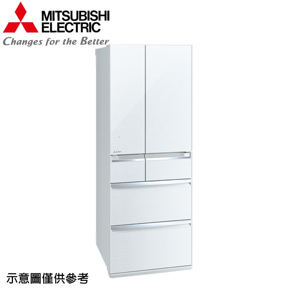 【MITSUBISHI 三菱】605公升日本原裝變頻六門冰箱MR-WX61C-W