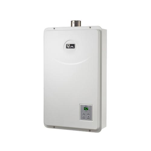 喜特麗 13公升數位恆溫FE式強制排氣 熱水器 JT-H1332/JT-H1332_NG1天然瓦斯