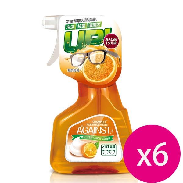 快潔適 橘油泡沫洗鏡液(橘)300ml*6瓶