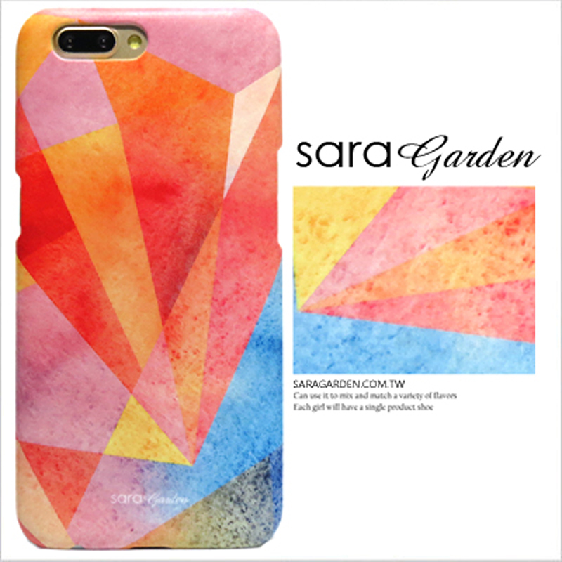 【Sara Garden】客製化 手機殼 蘋果 iPhone XS Max 三角 漸層 手工 保護殼 硬殼