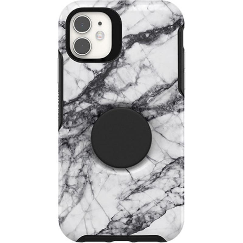 OtterBox 炫彩幾何泡泡騷保護殼iPhone 11 (6.1) 大理石白