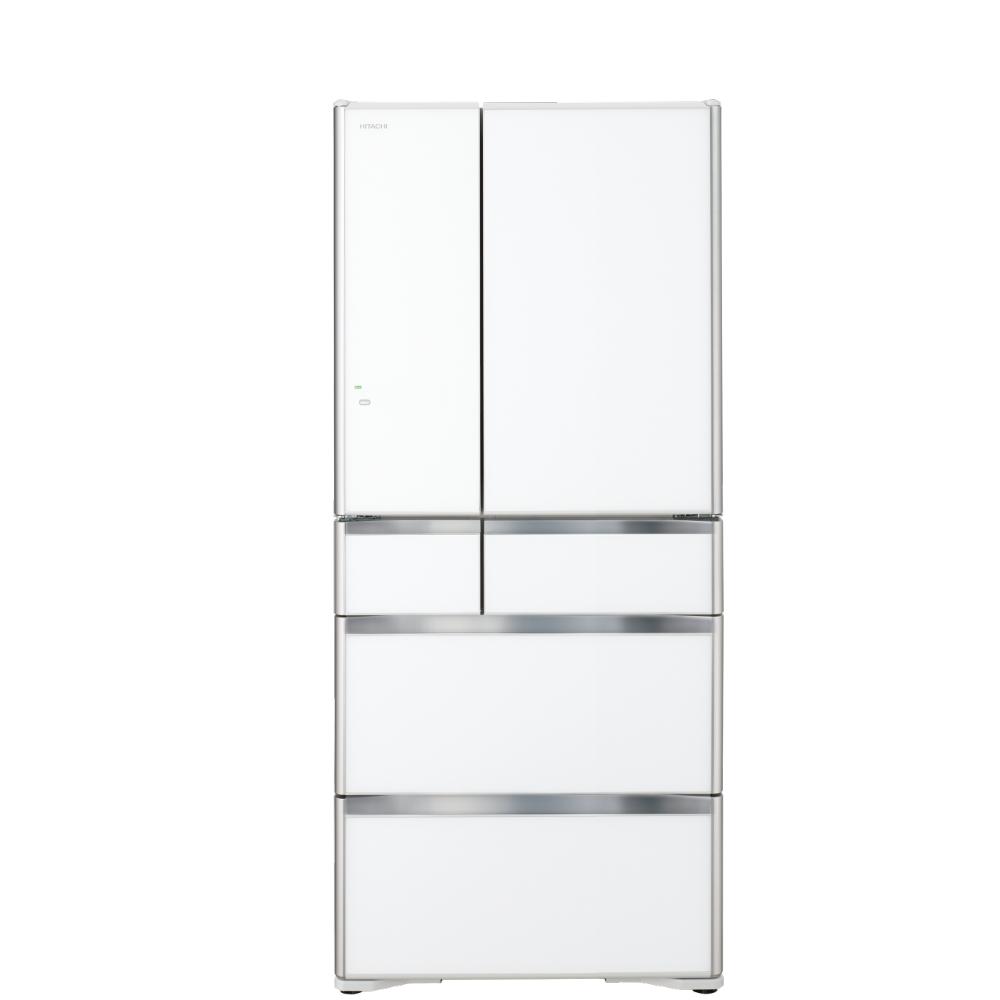 回函贈日立676公升六門-鏡面(與RXG680NJ同款)冰箱XW琉璃白RXG680NJXW