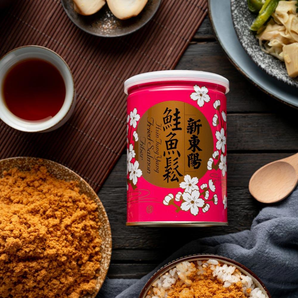 【新東陽】鮭魚鬆 (180g*4罐)
