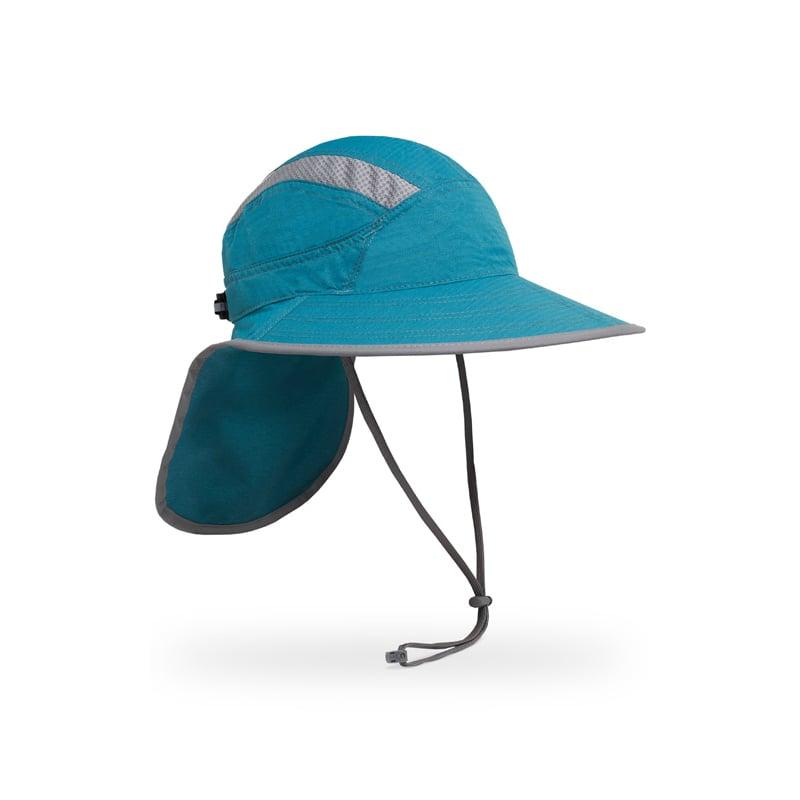 【美國 Sunday Afternoons】(L)抗UV防潑透氣護頸帽(鏡腳置孔) 山巒藍 Ultra-Adventure