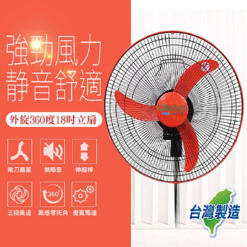 LAPOLO 18吋360度涼風扇 FT-1803