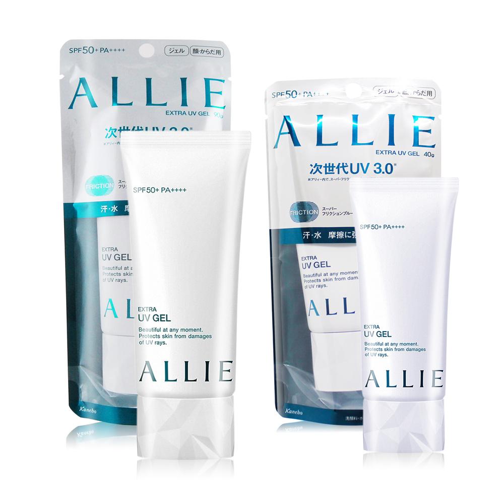KANEBO 佳麗寶 ALLIE EX UV高效防曬水凝乳N SPF50+ PA++++(90g)+(40g) 新款
