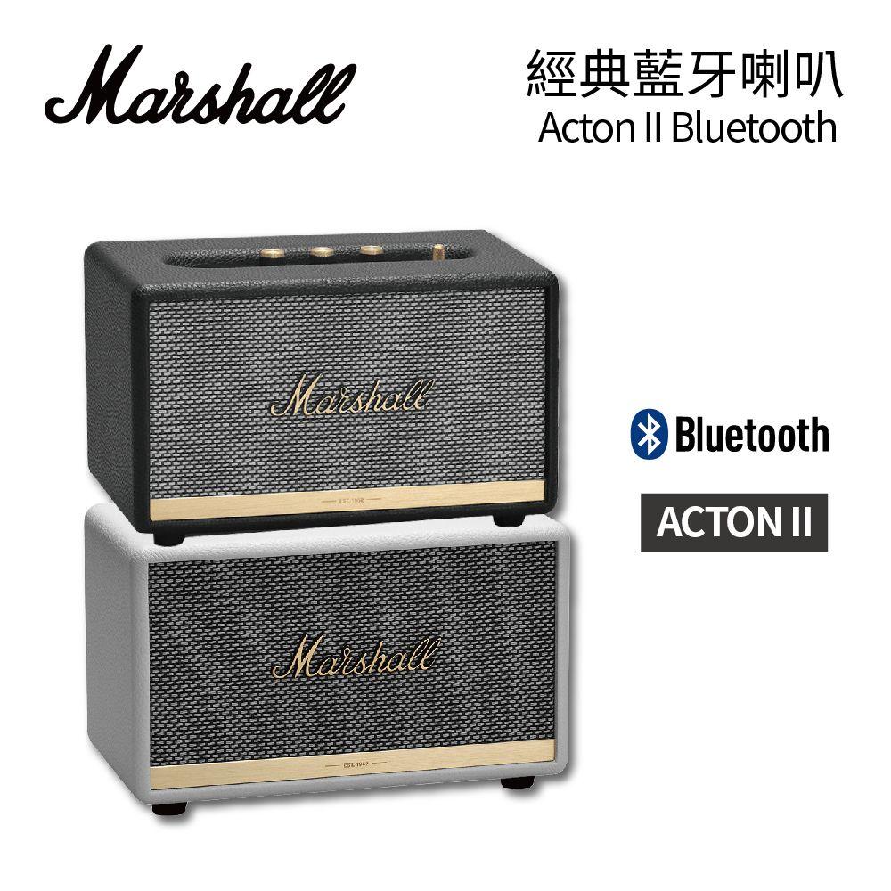 【英國 Marshall 】 Acton II Bluetooth藍芽無線喇叭 奶油白