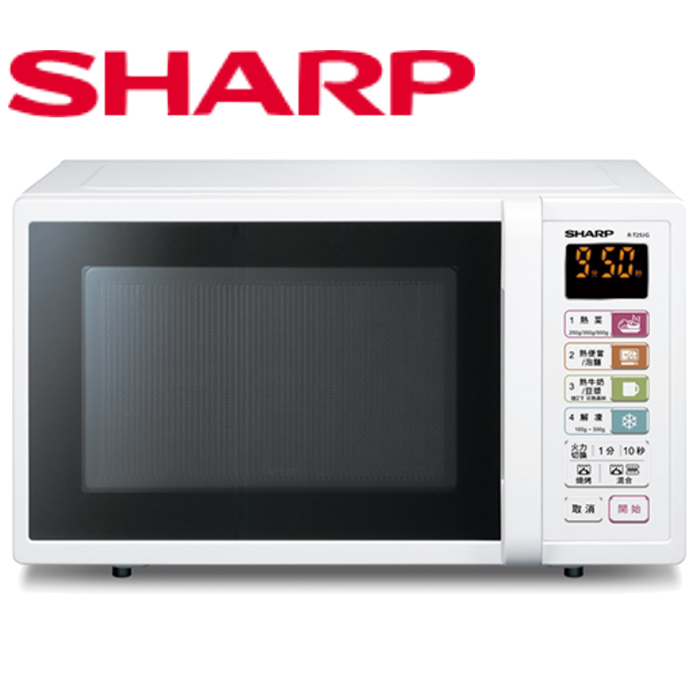 【SHARP 夏普】25L燒烤微波爐 R-T25JG