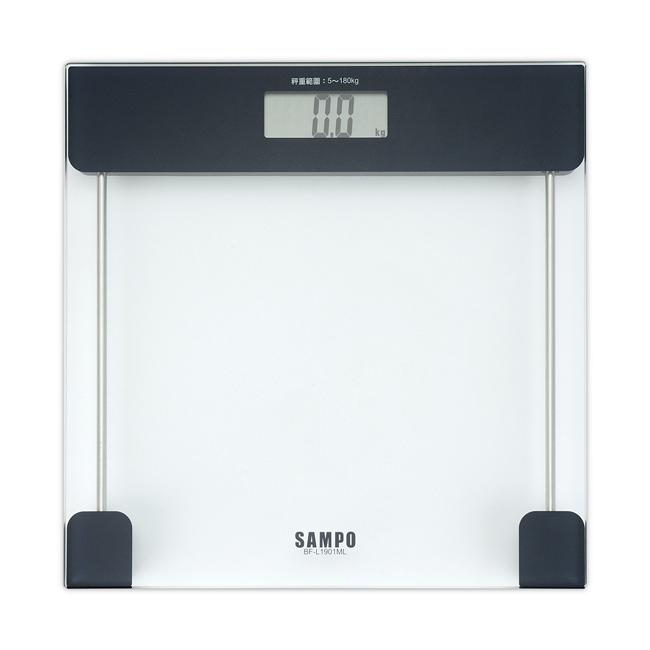 【SAMPO聲寶】大螢幕自動電子體重計 BF-L1901MLL