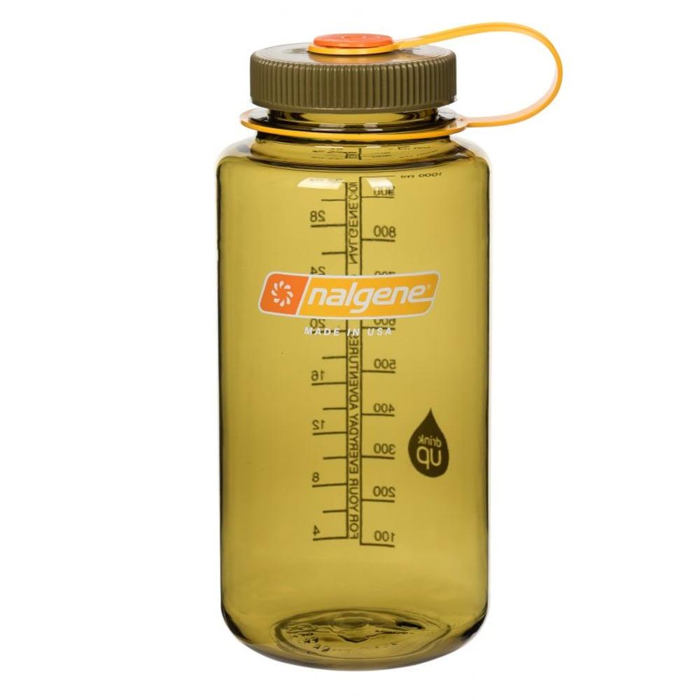 Nalgene 寬嘴水壼(1000cc)-橄欖