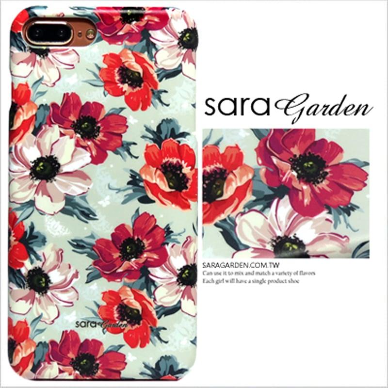 【Sara Garde】客製化 手機殼 ASUS 華碩  Zenfone2 laser 5.5吋 ZE550KL 浪漫紅花碎花 保護殼 硬殼