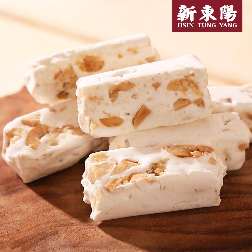 【新東陽】綜合花生牛軋糖 (280g奶油*2包+鹹香*2包),免運