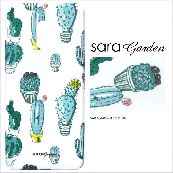 【Sara Garden】客製化 手機殼 HTC 10 Pro 手工 保護殼 硬殼 仙人掌植栽
