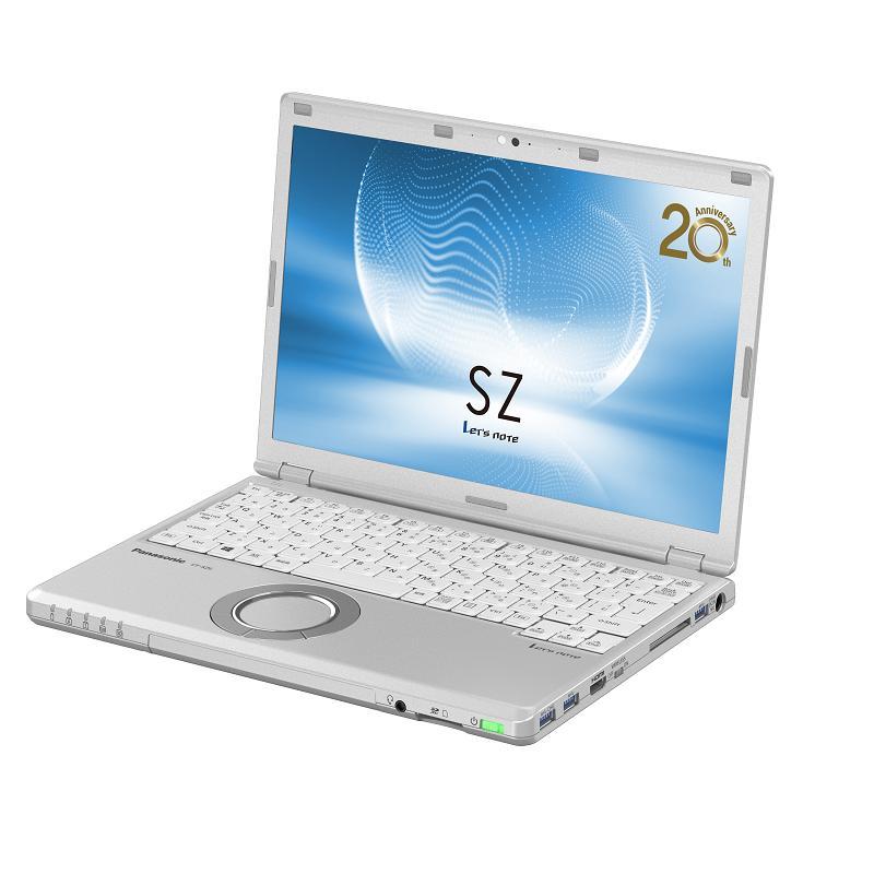 Panasonic CF-SZ(i5-7300U) 8G 256GB SSD M.2 CF-SZ6RDSTTQ 銀12.1吋筆電