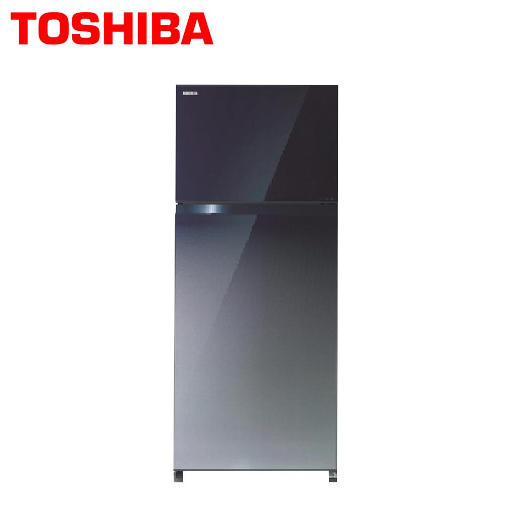 【TOSHIBA東芝】505公升玻璃鏡面雙門冰箱GR-HG55TDZ