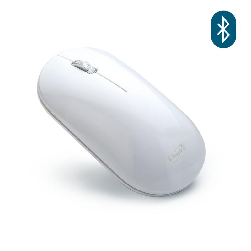 E-books M57 藍牙超靜音無線滑鼠 冰川白